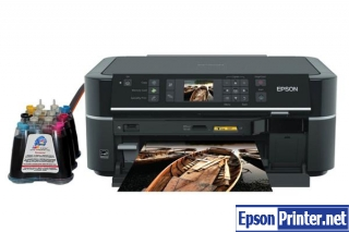 Reset Epson TX659 lazer printer with software