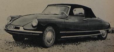 Citroen 1960 DS 19 cabriolet