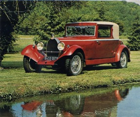 catalogue 3 Bugatti 44 faux cabriolet 1929