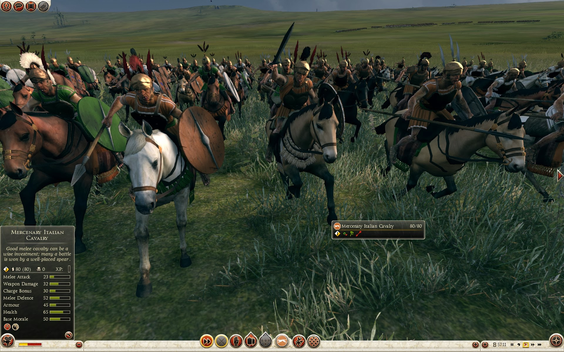 Mercenary Italian Cavalry