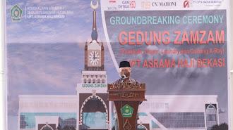 Asrama Haji Bekasi Akan Dilengkapi Ruang Poliklinik dan Gedung X-Ray