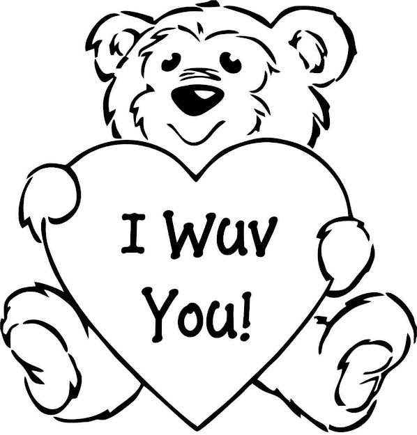 Top 10 Valentine Coloring Pages Drawing