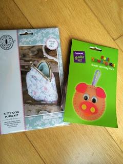 Kirstie Allsopp and Hobbycraft Sewing Kits