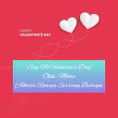 Say No Valentine's Day