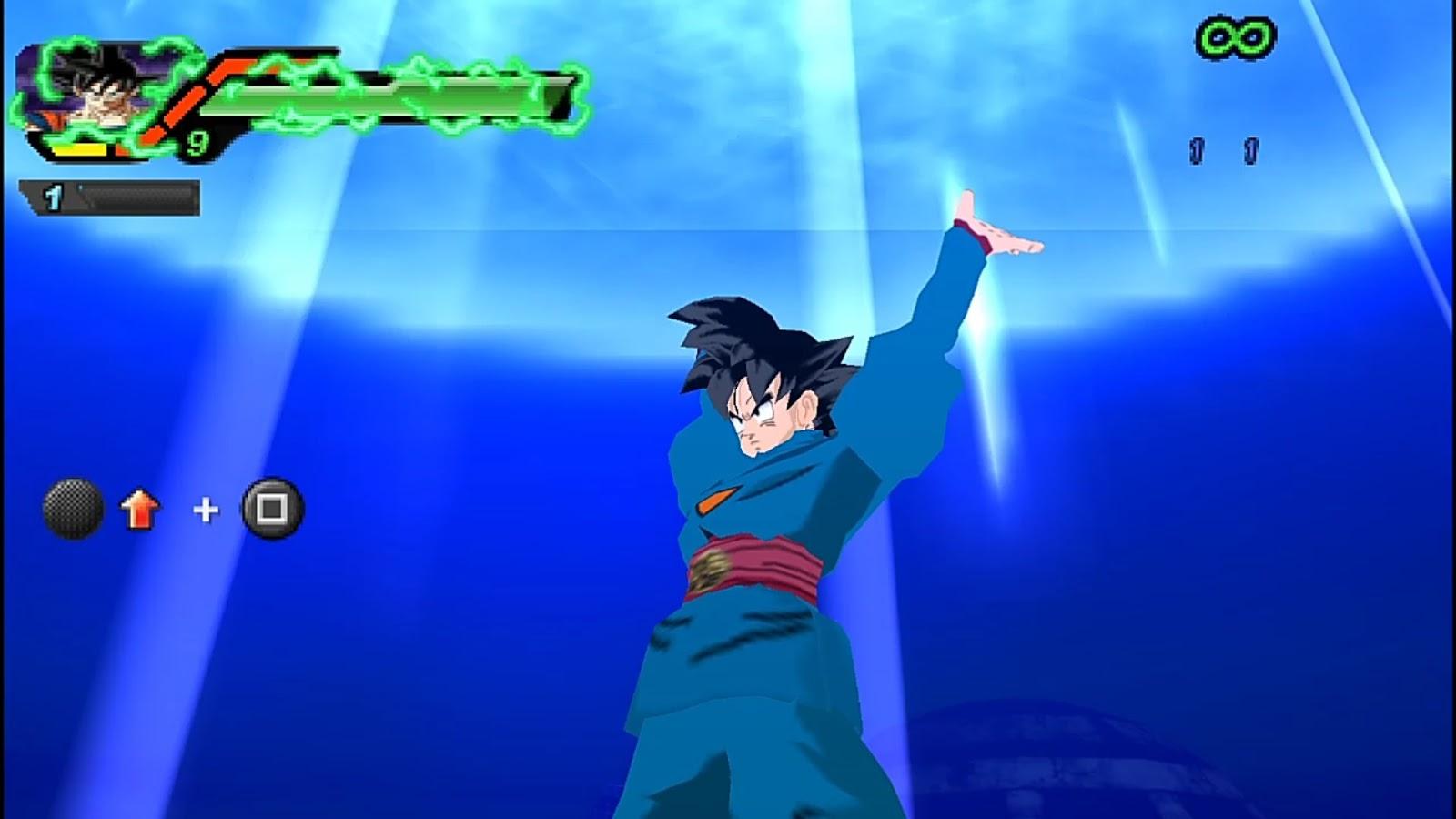 Descargar Ya Dragon Ball BUDOKAI Tenkaichi 3 MOD SUPER +MENU BETA PPSSPP Android (+DOWNLOAD)