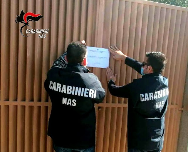 Reggio Calabria: controlli anti- Covid dei Carabinieri del Nas, sospensione immediata per quattro comunità alloggio per anziani