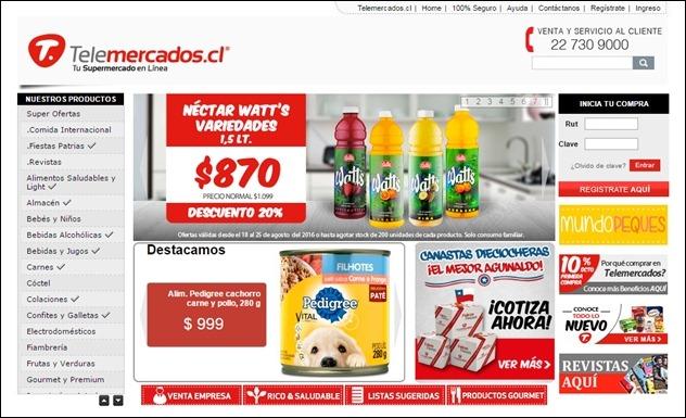Abrir mi cuenta Telemercados Chile