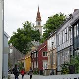 Leuk buurtje nabij de Nidelva.