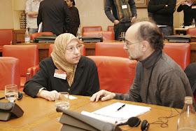 Construyendo Comunidaes con Futuro. Amparo Sánchez Rosell en representación del Centro Cultural Islámico de Valencia