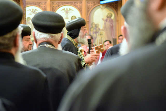 His Holiness Pope Tawadros II visit to St. Mark LA - DSC_0183.JPG