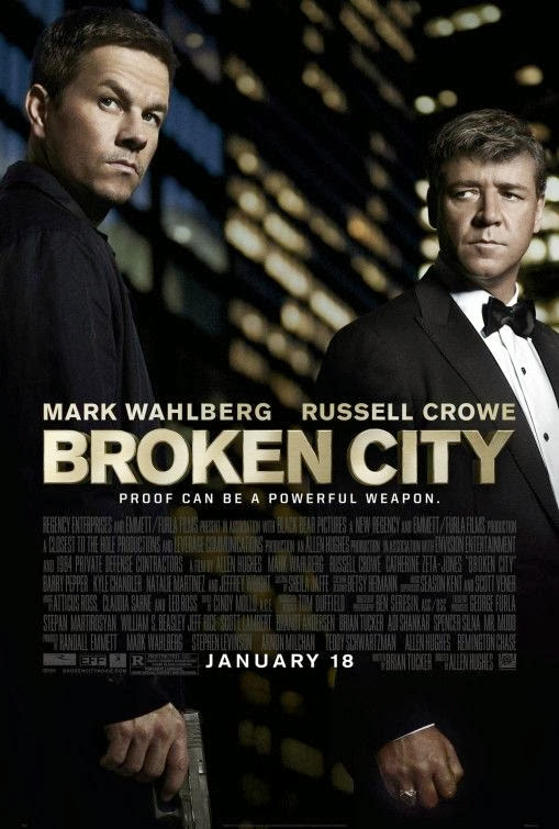 Poster Of English Movie Broken City (2013) Free Download Full New Hollywood Movie Watch Online At Alldownloads4u.Com