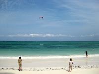 Zanzibars white sand beaches