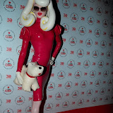 WWW.ENTSIMAGES.COM - Pandamonia  arriving at    Diet Coke Private Party  a Sketch Conduit Street  London January 30th 2013                                                    Photo Mobis Photos/OIC 0203 174 1069