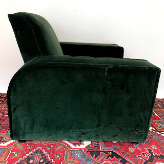 Art Deco Armchair, Low Back
