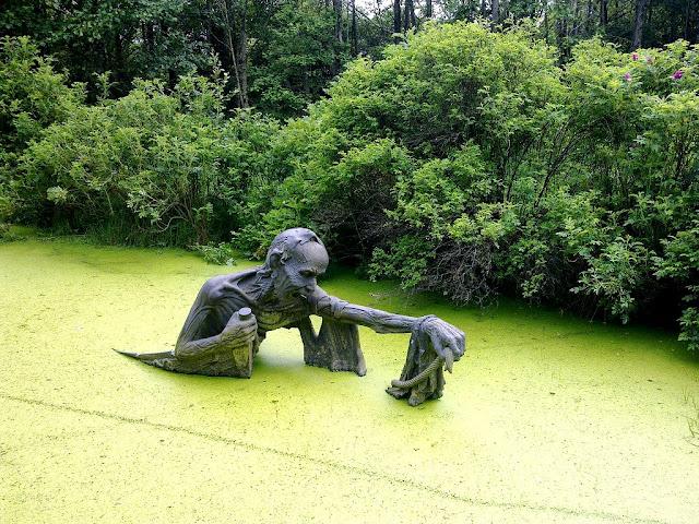 Victoria Way, o jardim das esculturas
