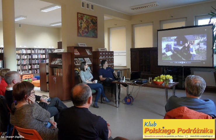 Spotkanie Klubu Polskiego Podróżnika w Cieplewie