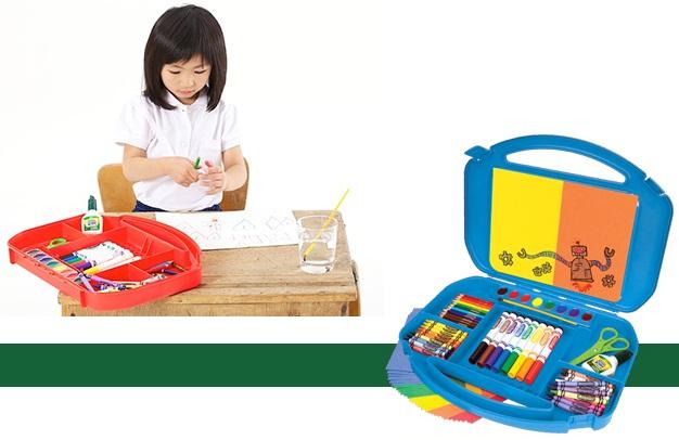 Bộ dụng cụ vẽ Crayola Ultimate Art Supply Case tuyệt đối an toàn