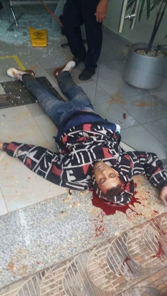 Homem é baleado na cabeça durante tentativa de assalto no banco Sobrália no Leste de Minas