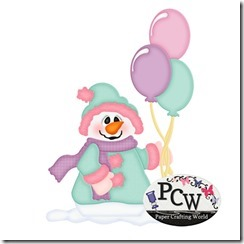 pcw snowman with balloons-450