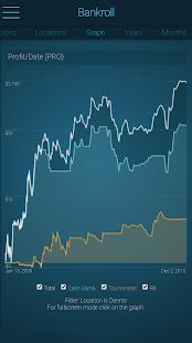 Poker Bankroll Tracker - náhled