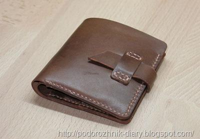 Кожаный кошелек-1