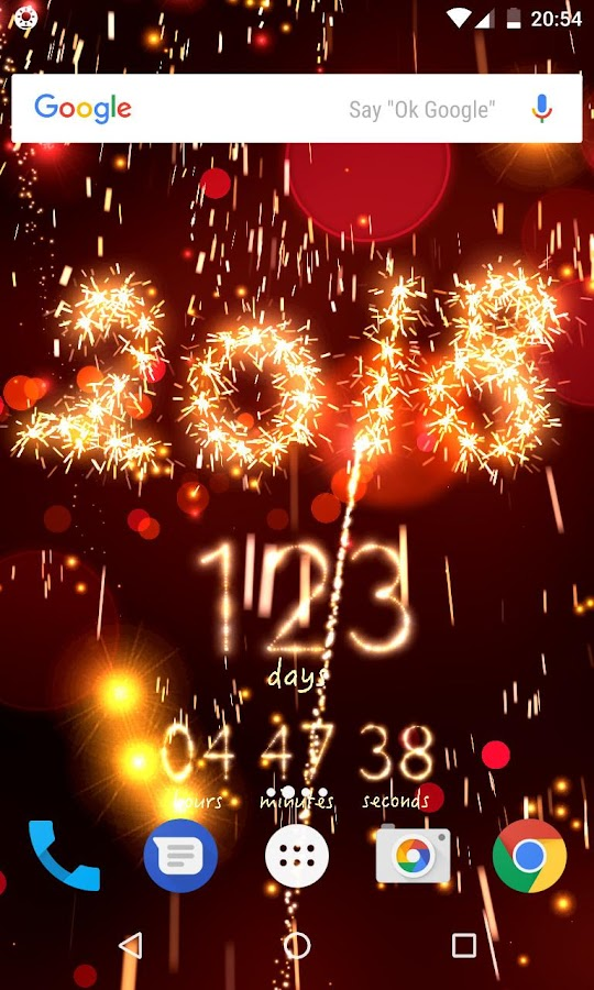 live silvester countdown