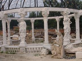 Column, Exterior, Gazebo, Gazebos, Ideas, Landscape Decor, Natural Stone, Statue