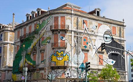 graffitis Av. Fontes Pereira de Melo