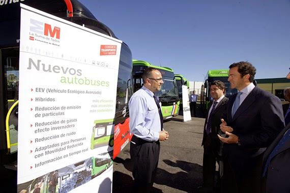 Puesto de mando en Valdemoro para controlar los autobuses interurbanos del sureste