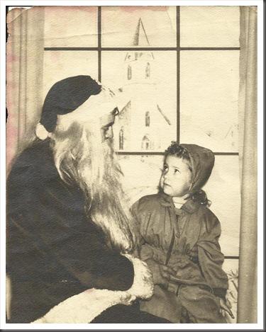 Donna and Santa