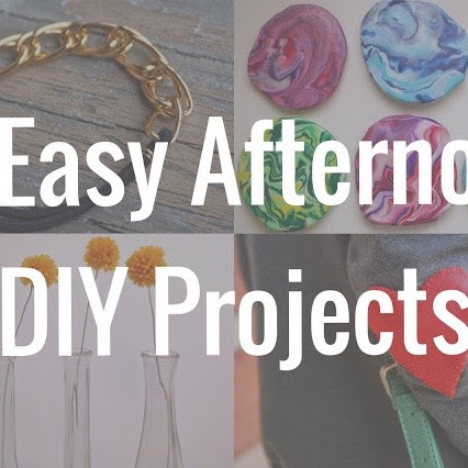 10 Afternoon DIY Projects