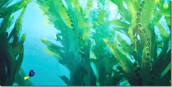 Finding Dory - concept art 1