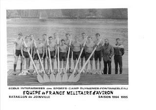 1985-La saison de l'équipe de France d'aviron