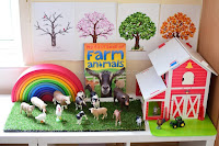 Montessori Inspired Farm Activities for Preschoolers