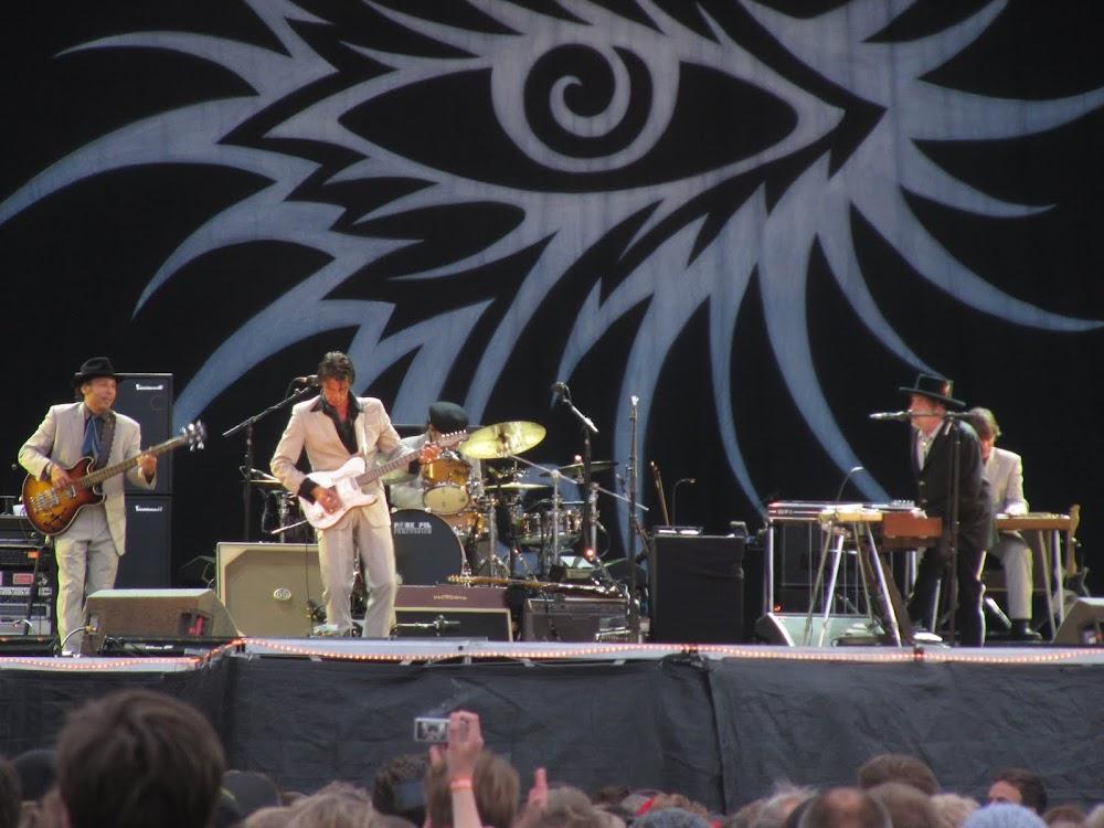 Bob Dylan at Peace and Love 2011