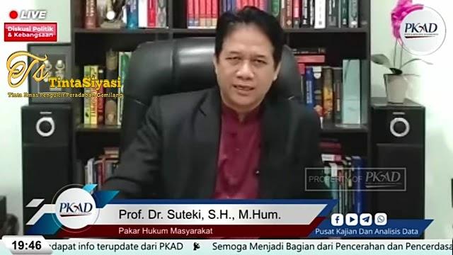Wacana Amandemen Konstitusi, Prof. Suteki: Semakin Liberal