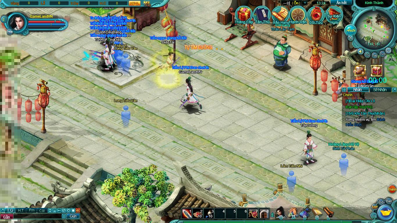 Hình ảnh thử nghiệm webgame Tiểu Lý Phi Đao - Ảnh 3