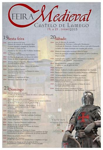 PROGRAMA GERAL | Feira Medieval evoca as lendárias Cortes de Lamego - 2015