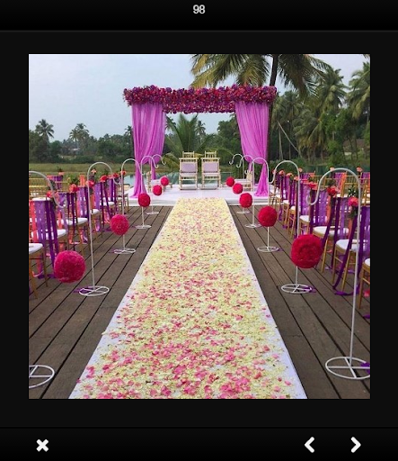 Wedding stage decoration aso report and app store data apptweak wedding stage decoration screenshot junglespirit Images