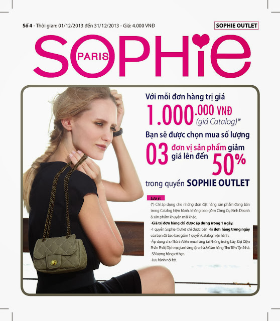 Sophie Outlet 03 khuyến mại 50% tháng 12/2013
