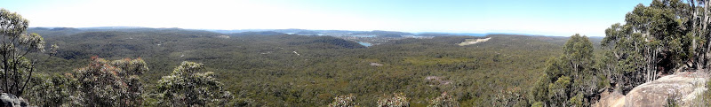 View from Mt Wonderbyne