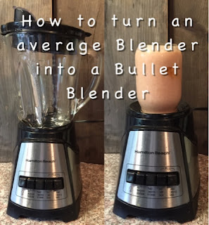 How to turn a regular blender into a bullet blender