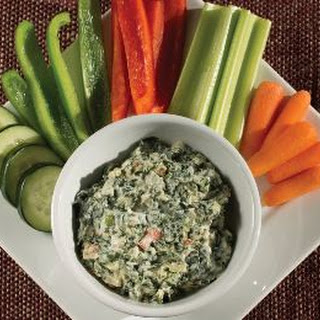 Spinach Dip with Protein.