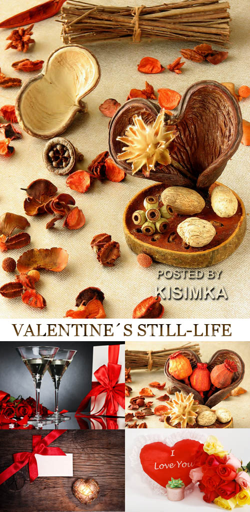 Stock Photo: Valentine's still-life