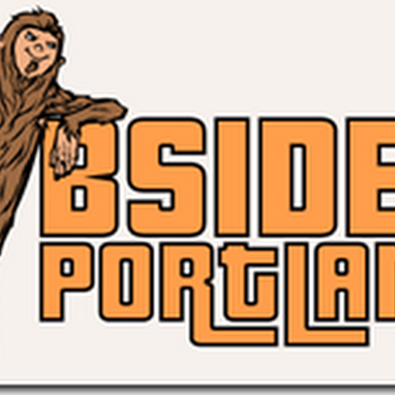 BSides Portland, Oct 26-27