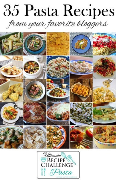 40 Pasta Recipes from Amazing Food Bloggers
