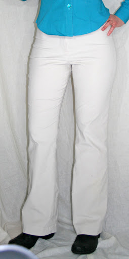 Burda 10-2011-127: Stretch corduroy pants