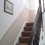 Hall, landing and stairs re-decoration