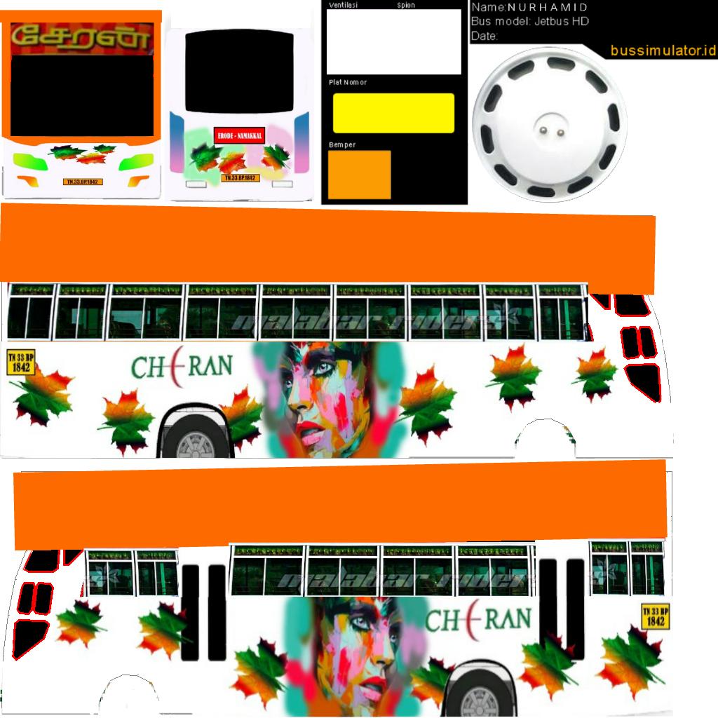 Bussid kerala: Cheran tamilnadu bus livery