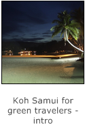 koh samui for green travelers - intro